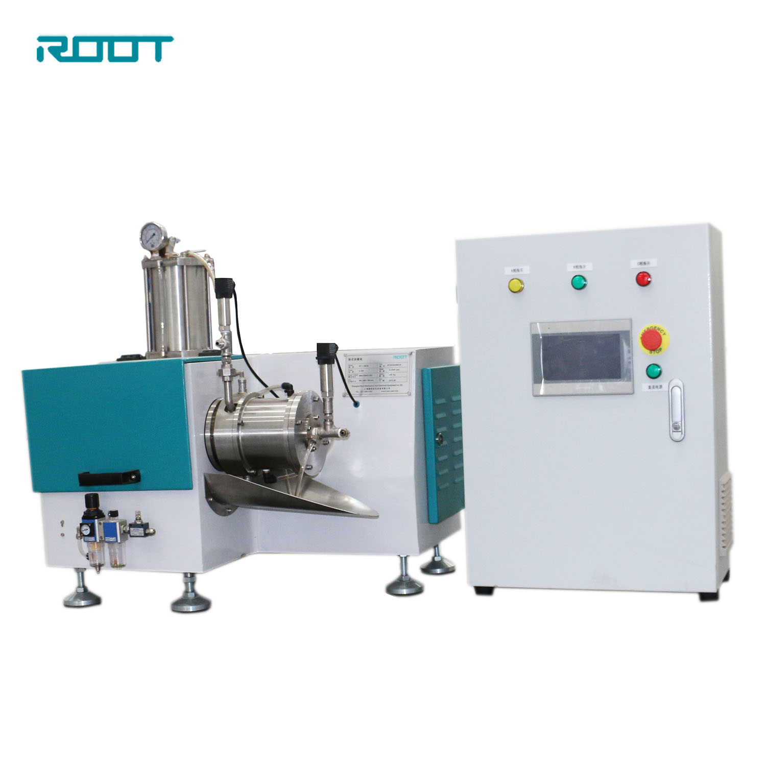 Root bead mill